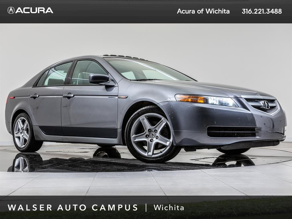 PreOwned Acura TL Leather Moonroof Alloy Wheels Dr Car In - 2005 acura tl navigation update