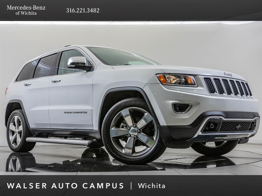 Pre-Owned 2014 Jeep Grand Cherokee Limited, 20-Inch Alloy Wheels