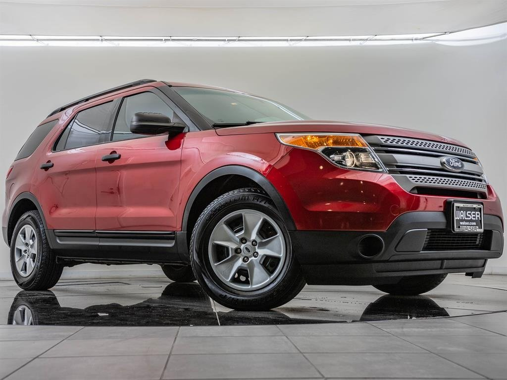 Pre-Owned 2013 Ford Explorer Service History