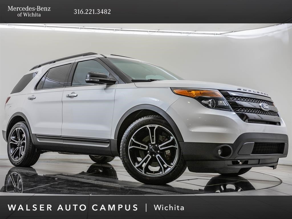 Pre-Owned 2014 Ford Explorer Sport, Navi, Blnd Spt, RV Cam, Sony Audio, MnRf