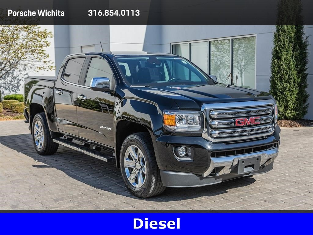 Pre-Owned 2016 GMC Canyon SLT, Diesel, Factory Wheel Upgrade