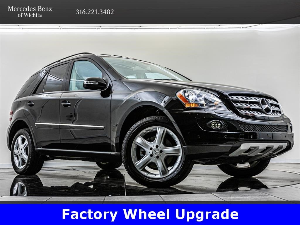 Pre Owned Factory >> Pre Owned 2007 Mercedes Benz M Class Ml 350 Factory Sport Wheel Upgrade Awd 4matic