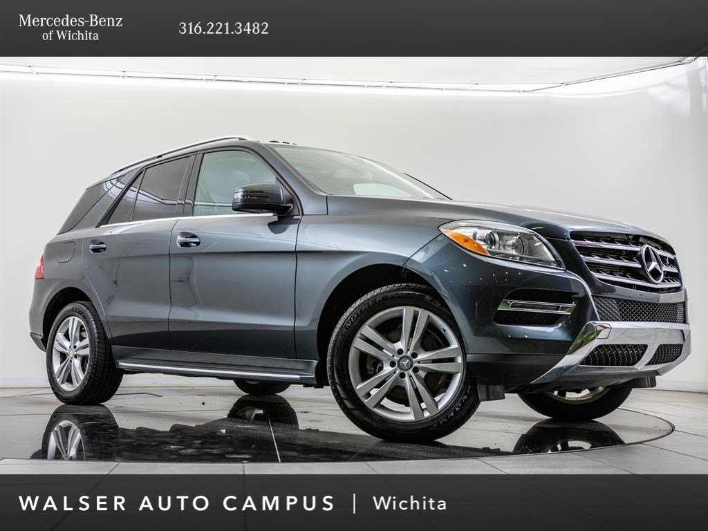 Pre-Owned 2015 Mercedes-Benz M-Class ML 350 4MATIC®, 19-Inch Wheels