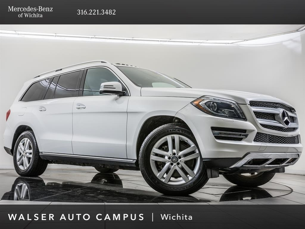 Pre-Owned 2015 Mercedes-Benz GL GL 450 4MATIC®, Local 1-Owner
