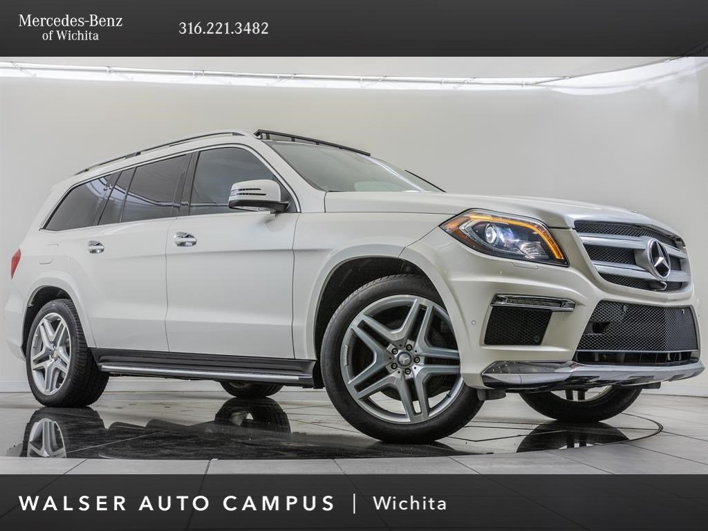 Pre-Owned 2014 Mercedes-Benz GL-Class GL 550 4MATIC®, designo Package