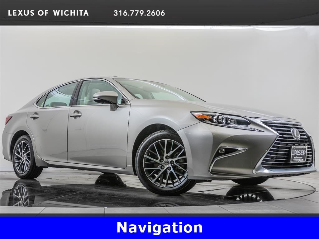 Pre-Owned 2017 Lexus ES 350 Navigation, Premium Package, Factory Wheel Upgrade