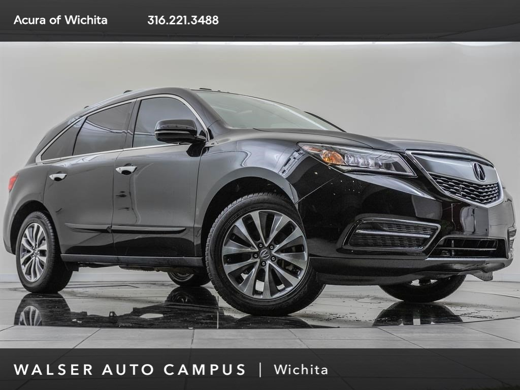 Pre-Owned 2016 Acura MDX SHAWD TECH HSEATS