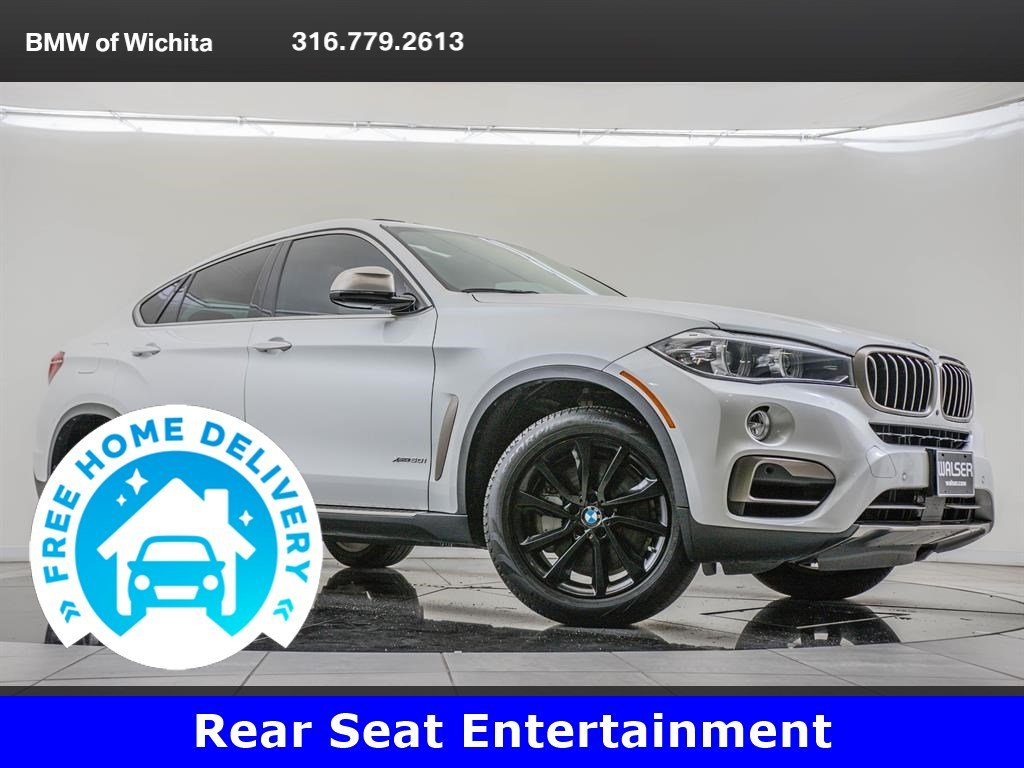 Pre-Owned 2017 BMW X6 Driving Assistance Plus Package