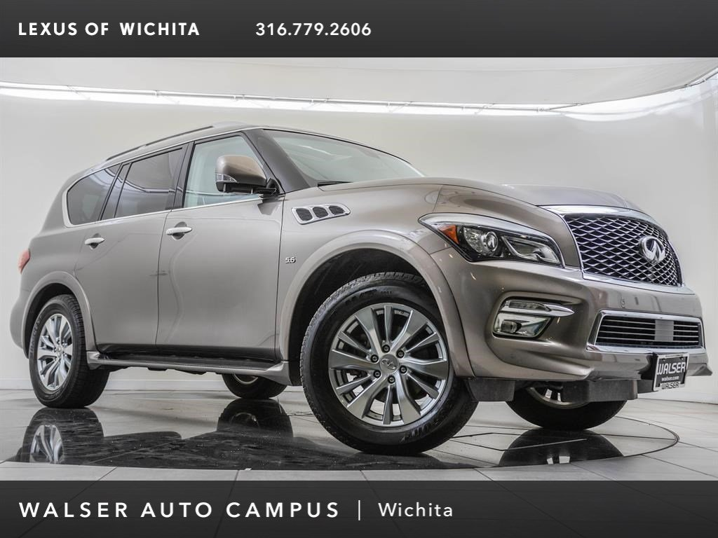 Pre-Owned 2017 INFINITI QX80 Driver's Assistance