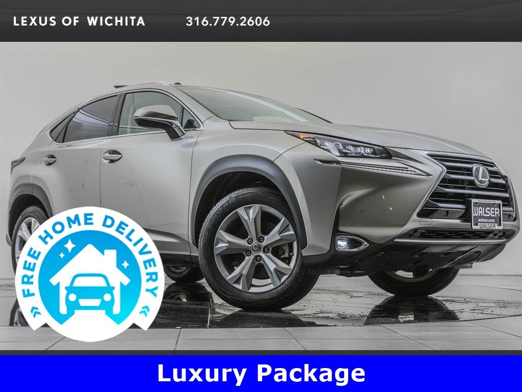 Pre-Owned 2017 Lexus NX 200t Luxury Package, Navigation