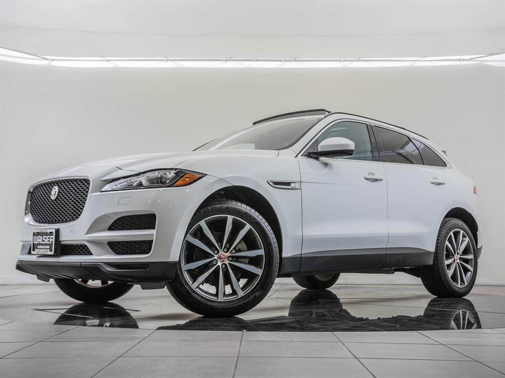 Pre-Owned 2018 Jaguar F-PACE Comfort & Convenience Package