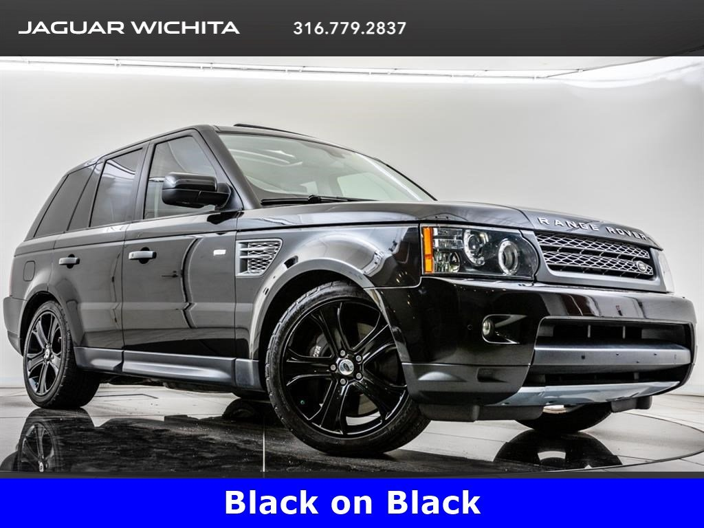 Pre-Owned 2011 Land Rover Range Rover Sport Supercharged, 20-Inch Black Wheels