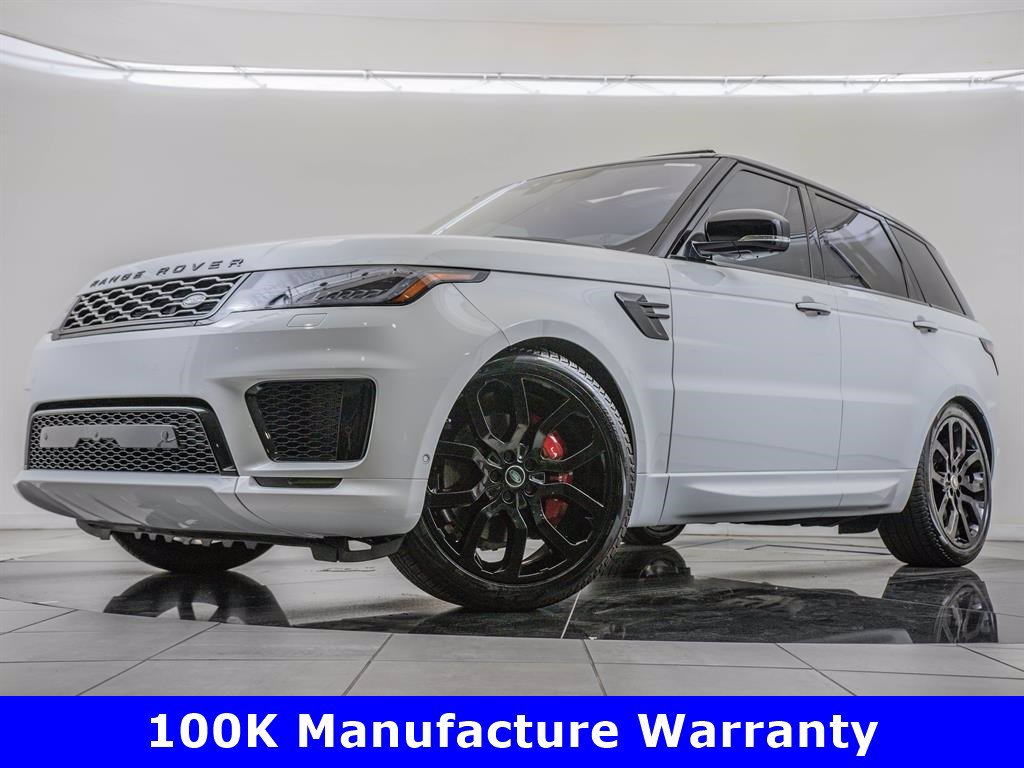 Pre-Owned 2020 Land Rover Range Rover Sport Drive Pro Package