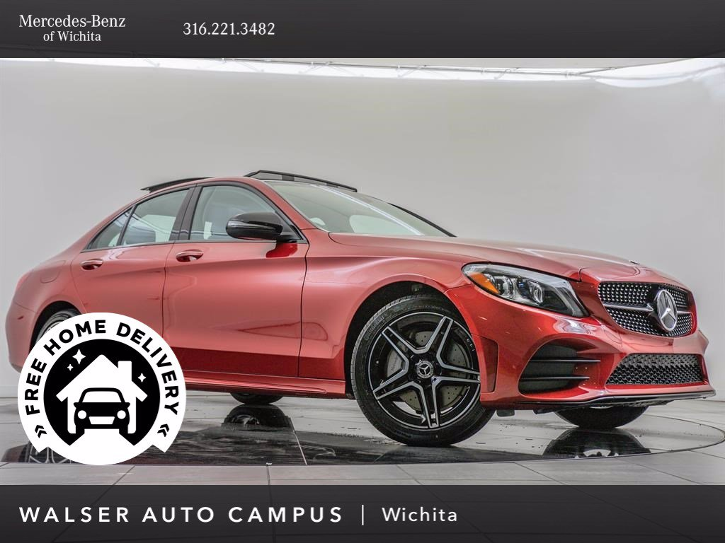 New 2020 Mercedes-Benz C-Class C 300 4MATIC Sedan