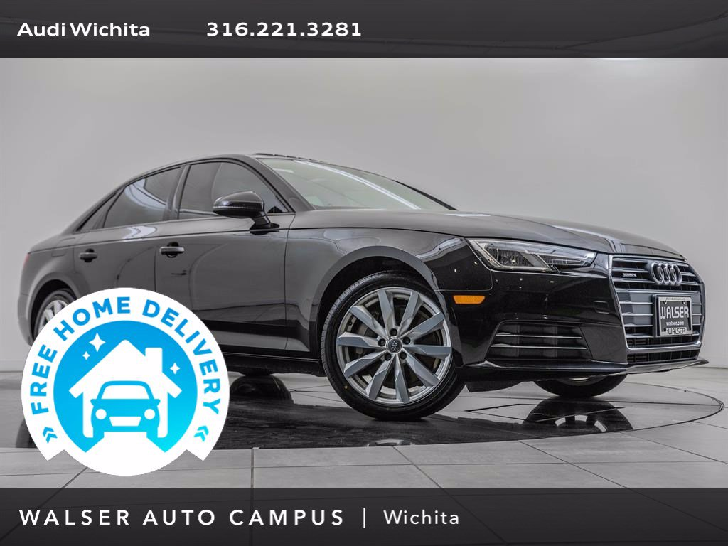 Pre-Owned 2017 Audi A4 Convenience Package