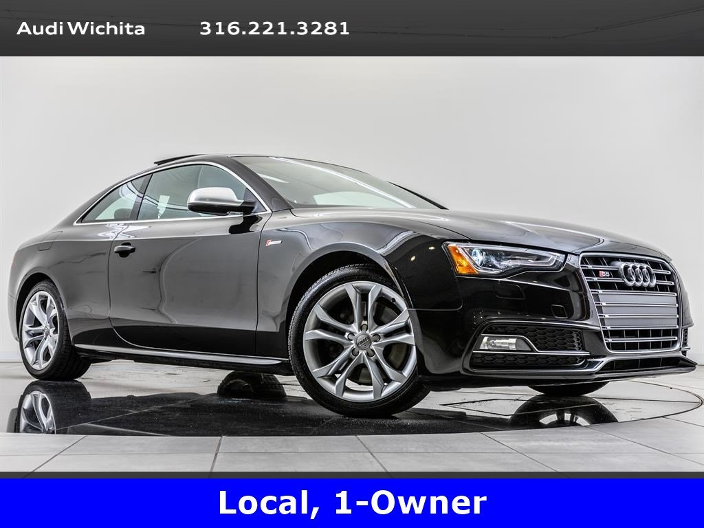 Pre-Owned 2016 Audi S5 Premium Plus quattro, Tech Pkg, Navi, MnRf, BT