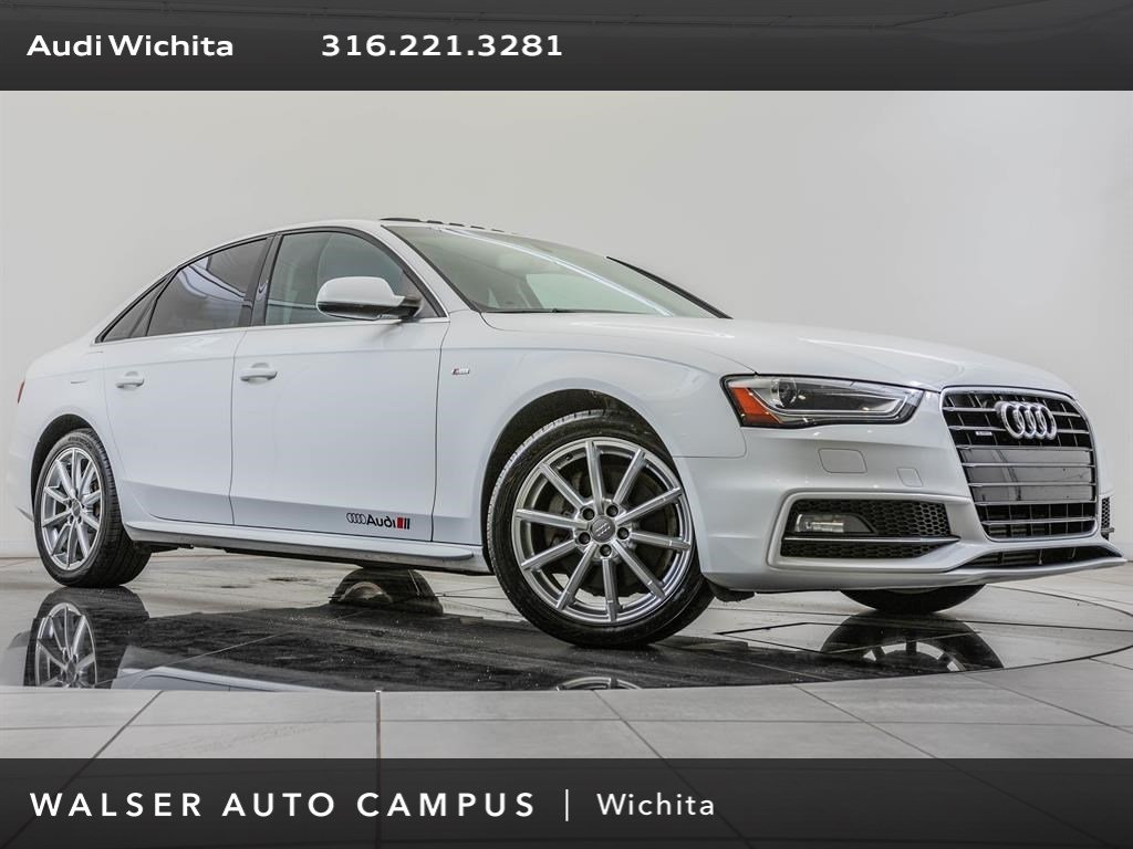Pre-Owned 2015 Audi A4 2.0T Premium quattro, Manual Transmission