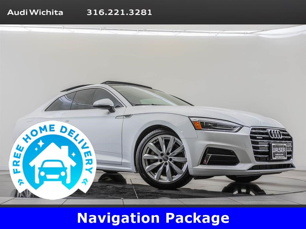 Pre-Owned 2018 Audi A5 Coupe Navigation & Telematics Package