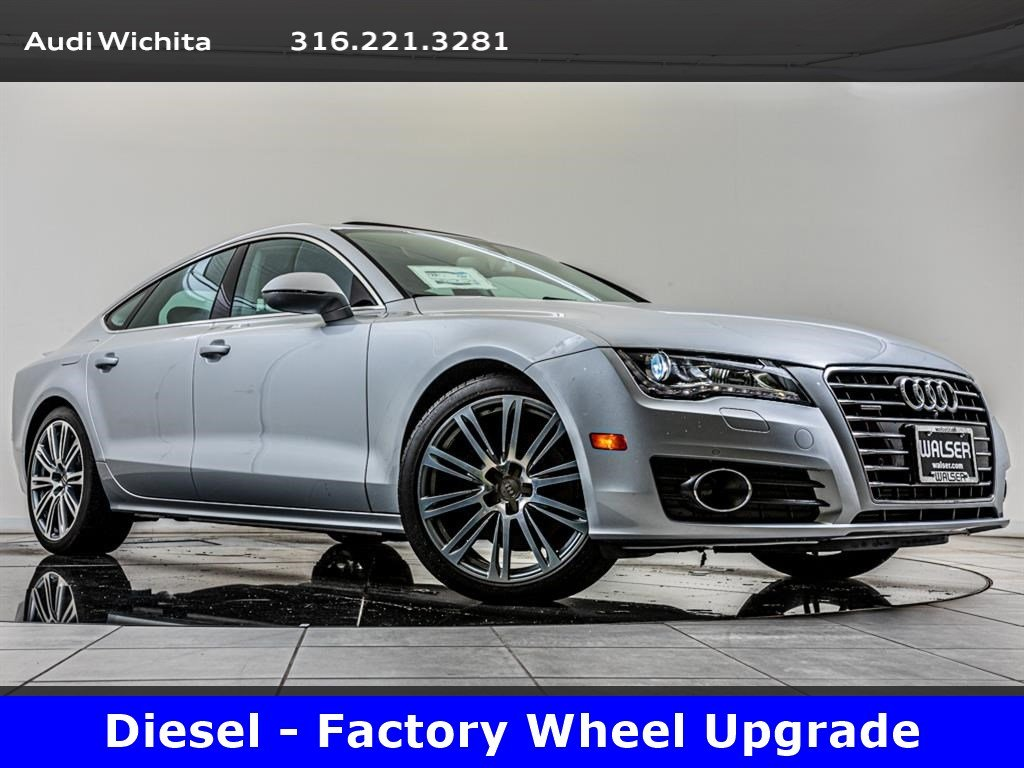 Pre-Owned 2014 Audi A7 TDI Premium Plus quattro, Upgraded Wheels