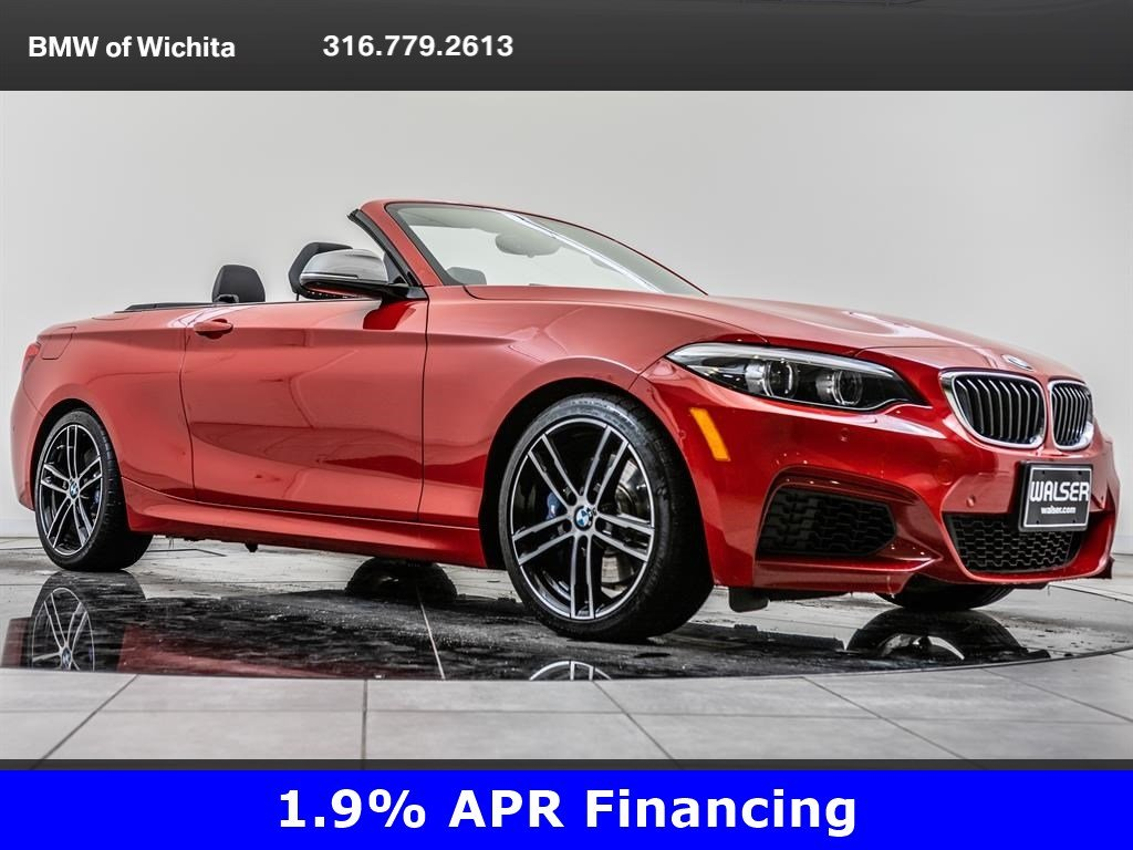 Pre-Owned 2018 BMW 2 Series M240i xDrive, M Wheels, Convertible