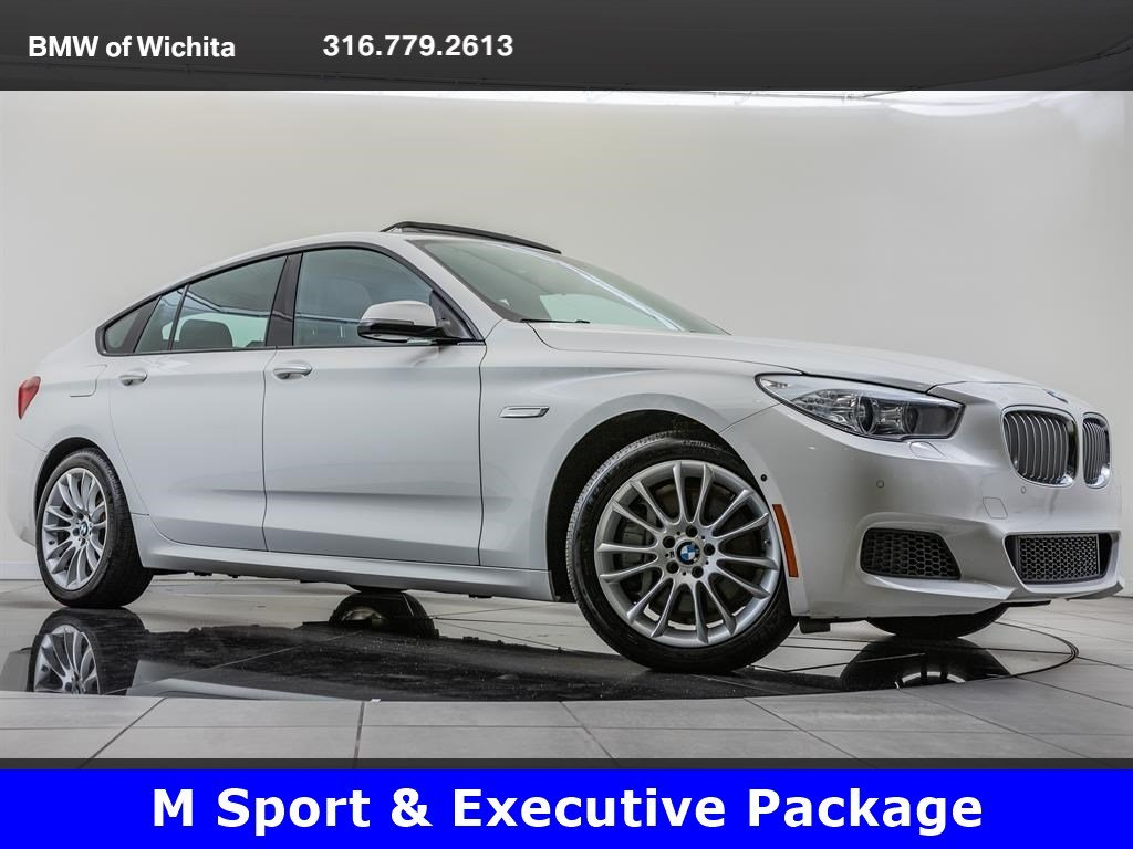 Pre-Owned 2016 BMW 5 Series Gran Turismo 550i xDrive, M Sport, Executive Package