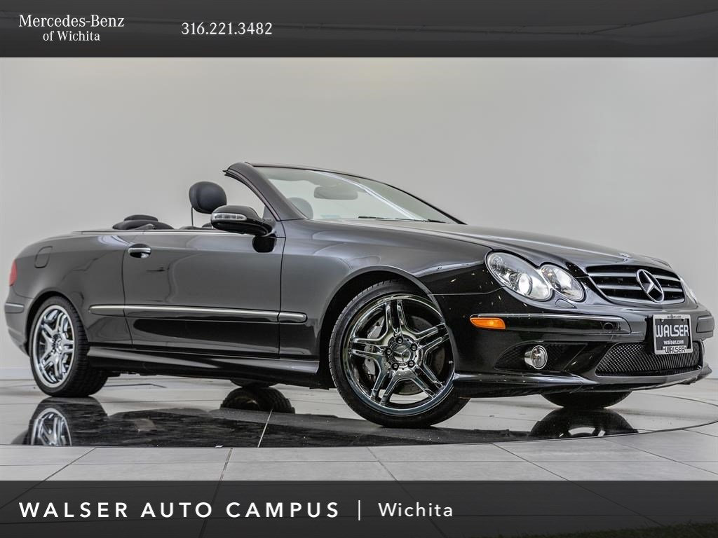 Pre-Owned 2006 Mercedes-Benz CLK CLK 55 AMG®, Lighting Package