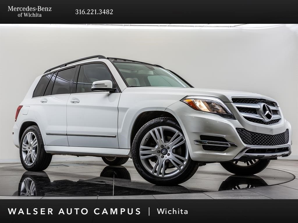 Pre-Owned 2014 Mercedes-Benz GLK GLK 350 4MATIC®, Heated Front Seats, Pano Sunroof