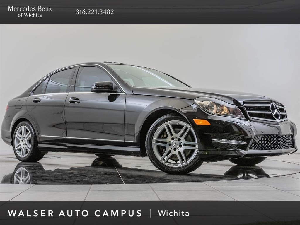 Pre-Owned 2014 Mercedes-Benz C-Class C 300 Sport 4MATIC, AMG® Sportline