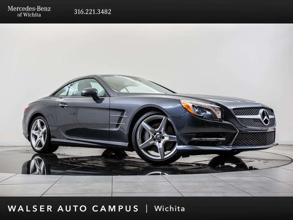 Pre-Owned 2013 Mercedes-Benz SL-Class SL 550, COMAND Navigation, PARKTRONIC, RV Camera