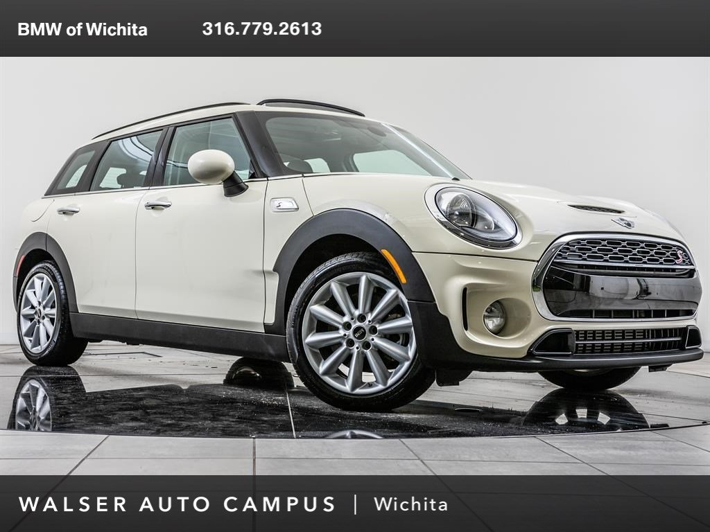 Pre Owned 2018 Mini Clubman Cooper S Bt Pano Rf Htd Sts Harman