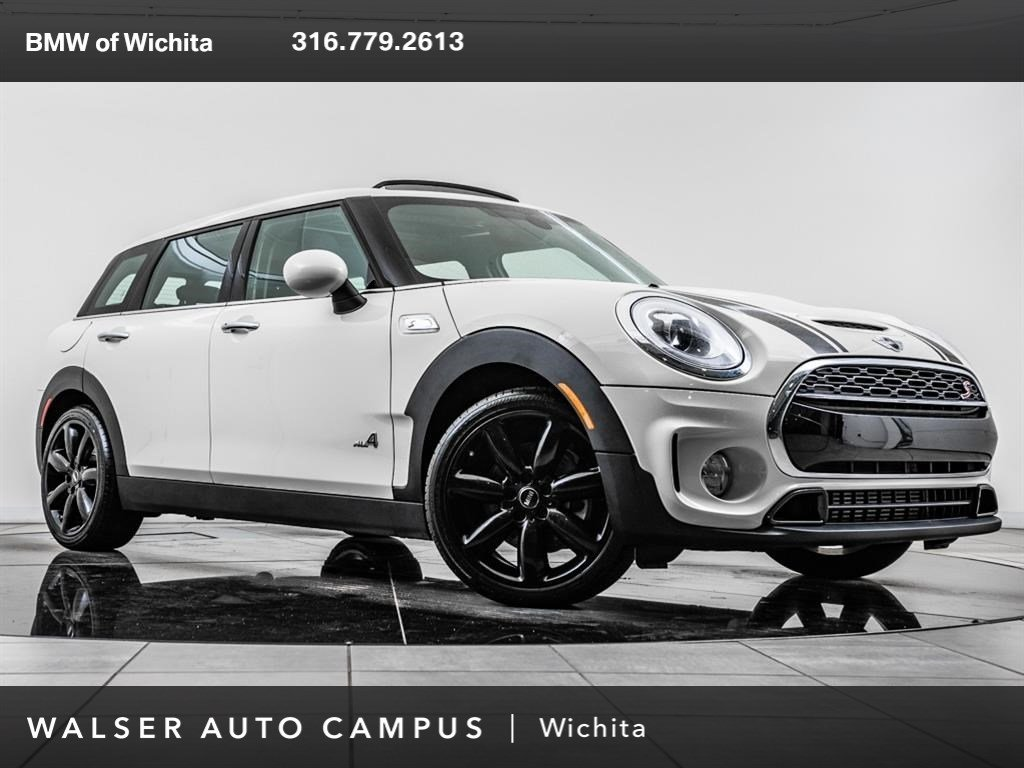 Pre-Owned 2018 MINI Clubman Cooper S ALL4, 18 Whls, Pano Rf, Htd Sts, RV Cam
