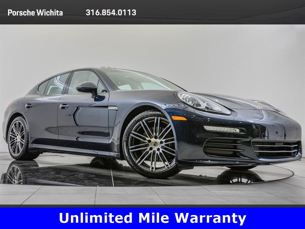 Pre-Owned 2016 Porsche Panamera 20-Inch Turbo Design Whls, Premium Package Plus