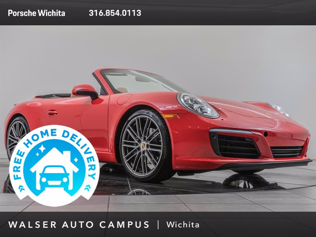 Pre-Owned 2017 Porsche 911 Premium Package Plus