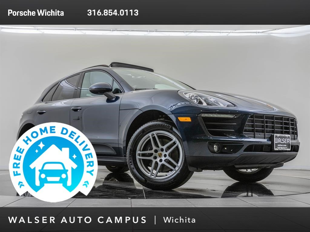 Pre-Owned 2018 Porsche Macan Premium Package Plus