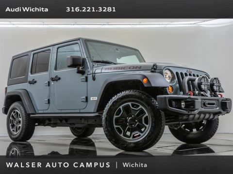 Pre-Owned 2013 Jeep Wrangler Unlimited Unlimited Rubicon, 10th Anniversary Rubicon Pkg