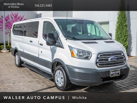 Pre-Owned 2015 Ford Transit Wagon 350 XL Low Roof