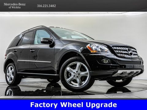 Pre-Owned 2007 Mercedes-Benz M-Class ML 350, Factory Sport Wheel Upgrade