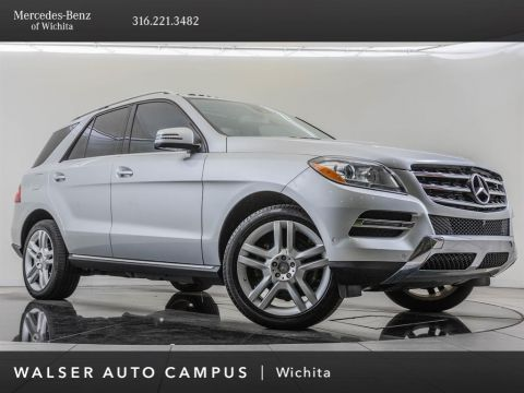 Pre-Owned 2015 Mercedes-Benz M-Class Navigation, Premium 1 & Parking Assist Packages