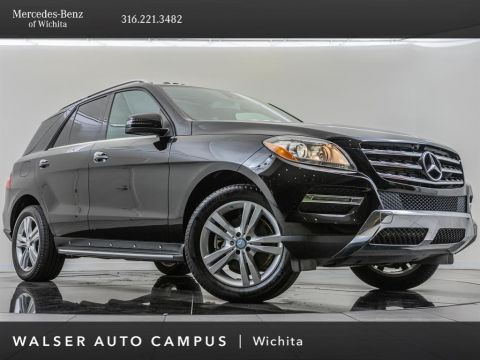 Pre-Owned 2013 Mercedes-Benz M-Class ML 350 4MATIC®, Premium Package