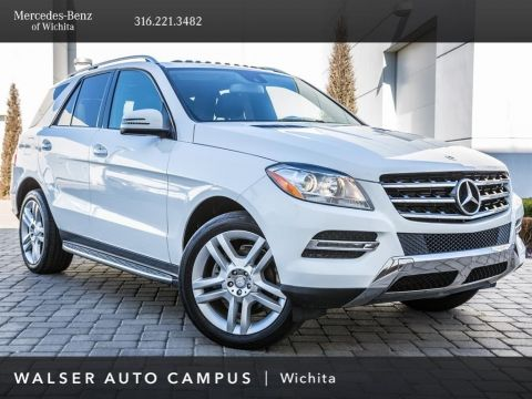 Pre-Owned 2015 Mercedes-Benz M-Class ML 350 4MATIC®, 20-Inch Wheels, 1-Owner