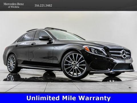 Certified Pre-Owned 2018 Mercedes-Benz C-Class C 300, AMG® Sport Package