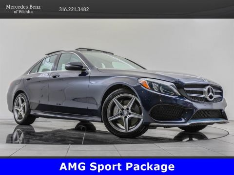 Pre-Owned 2017 Mercedes-Benz C-Class C 300 4MATIC, AMG® Sport Package