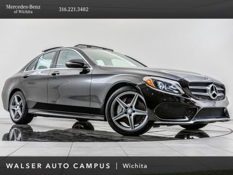 Pre-Owned 2016 Mercedes-Benz C-Class C 300 Sport 4MATIC, 18 AMG® Wheels, Burmester, Nav