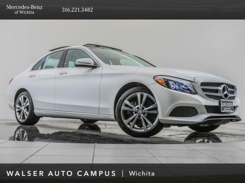 Pre-Owned 2017 Mercedes-Benz C-Class C 300 4MATIC®, Premium 2 Package