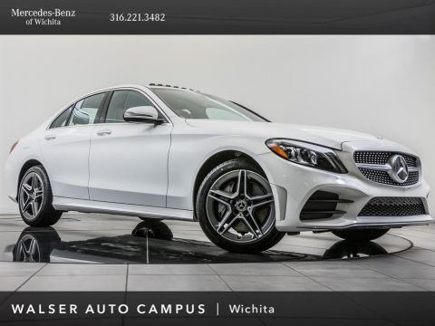 Pre-Owned 2019 Mercedes-Benz C-Class C 300 4MATIC® SDN