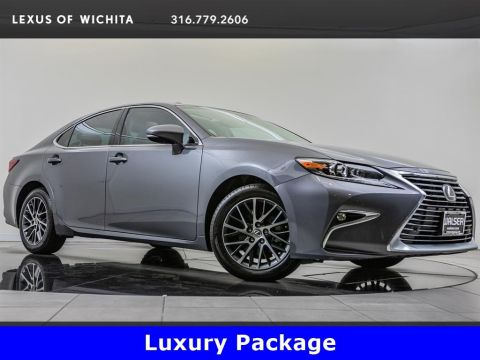 Pre-Owned 2017 Lexus ES 350 Luxury Package, Navigation, Factory Wheel Upgrade