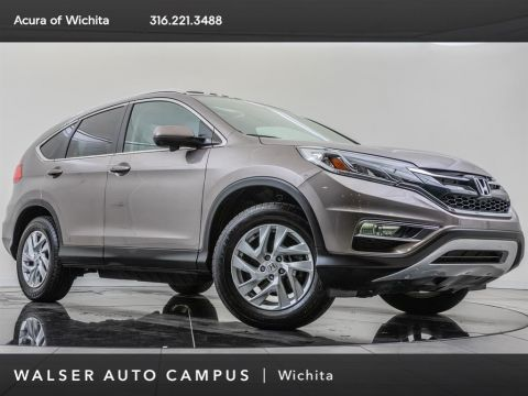 Pre-Owned 2015 Honda CR-V EX-L, 1-Owner
