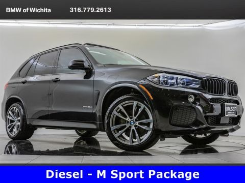 Pre-Owned 2017 BMW X5 xDrive35d, Diesel, M Sport, Premium Package