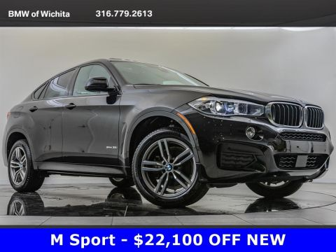 Pre-Owned 2019 BMW X6 sDrive35i, M Sport, Driving Assistance Plus Pkg