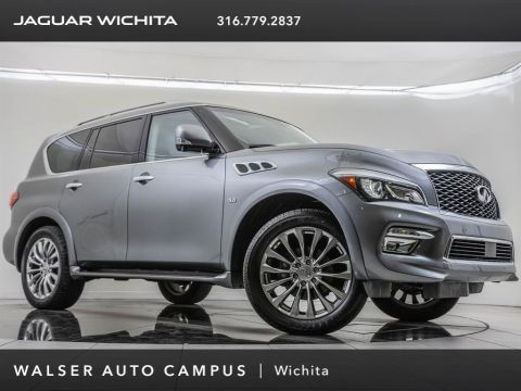 Pre-Owned 2017 INFINITI QX80 Factory Wheel Upgrade, Driver Assistance Package